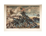 Storming Fort Wagner  1890