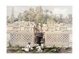 Ornament over the Gateway of the Great Teocallis  from 'Views of Ancient Monuments in Central…