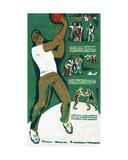 Basketball Players  C1970s