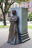 The Boston Women's Memorial on Commonwealth Avenue  Boston  Usa