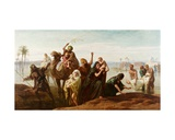 The Sudden Rising of the Nile  1865