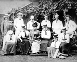 Victorian Men and Women's Cricket Team  C1890