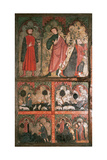 Gothic Art St Emilian Tables it Represents Scenes from the Life of St Emilian and the Virgin…