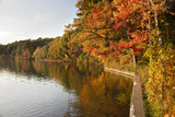 Walden Pond in Lexington  Boston  Usa