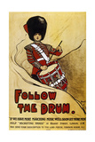 World War (1914-1918) Poster 'Follow the Drum'