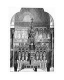 High Altar of St Alphonsus Liguori  Limerick  Ireland  Illustration from 'The Builder'  1865