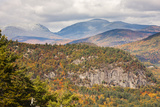 Looking Towards Mount Washington in the White Mountains  Maine  Usa