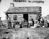 Polygamy in Low Life  C1860s