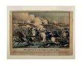Battle of Five Forks Va April 1st 1865  C1865