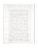 Autograph Manuscript of Lincoln's Last Address as President  Delivered in Washinton  D C  from…
