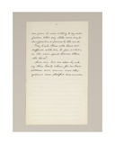 Autograph Manuscript of Lincoln's Election Victory Speech as President  Delivered in Washington…