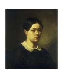 Portrait of Madame JF Millet  C1844
