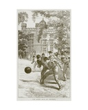 The Rugby Boys at Football  Illustration from 'The Boy's Own Volume'  C1860