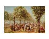 El Paseo De Las Delicias  Madrid  1785-6