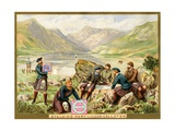 Stalking Party  Loch Callater'  a Promotional Card for Huntley and Palmers Biscuits  C1890…