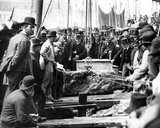 Laying the Foundation Stone for the Extension to Smeaton's Pier  1888