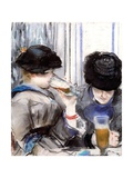 Women Drinking Beer  1878