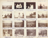 The Russian Imperial Family  Page from an Album of Photographs  C1897-99