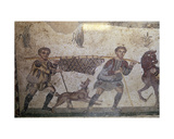 Mosaic with Hunting Scene  Villa of Casale