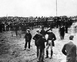 Crowd at Lincoln's Gettysburg Address  1863