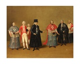 Officers of the Knights of Malta