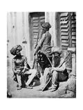 Sikh Officers During the Indian Rebellion  1858
