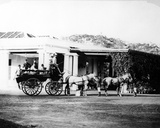 Horse-Drawn Carriage in Colonial India  C1870s