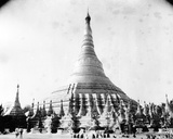 The Shwedagon Pagoda at Rangoon  C1886