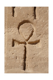 Ankh or Key of Life Relief Abu Simbel Egypt