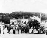 Holidaymaker Stagecoach  C1880s