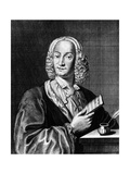 Portrait of Vivaldi Holding a Sheet of Music  1725