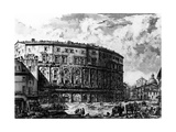 View of the Theatre of Marcellus  from the 'Views of Rome' Series  C1760