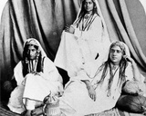 Kashmiri Nautch Girls  C1860s