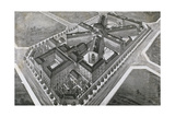 Model Prison  1904 Engraving