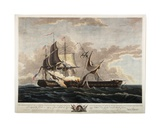 US Frigate Constitution Capturing Frigate Guerriere  1813