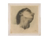 Study for the Head of the King in 'The Wheel of Fortune'  C1870