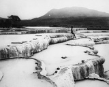 The Hot Water Basins and White Terraces  C1880s