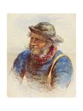 Study of a Fisherman  1870