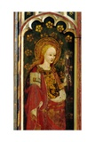 St Apollonia  Holding a Pair of Pincers and a Tooth  Detail of the Rood Screen  St Michael's…