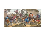 Hudibras Encounters the Skimmington  Illustration from 'Hogarth Restored: the Whole Works of the…