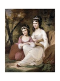 Eliza and Mary Davidson  C1784