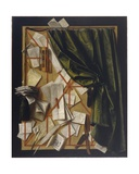 Trompe L'Oeil: Letter Rack with an Hourglass  a Razor and Scissors  1664