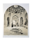 Rest Room Beside the Baths at Shemakha  1847