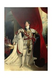 King George IV  Standing in Garter Robes  C1830