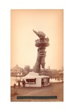 Hand and Torch of the Statue of Liberty  C1876