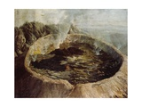 Inner Crater of Mount Vesuvius  C1775