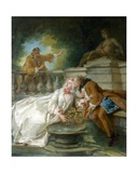 Couple Called Fete Champetre  1730