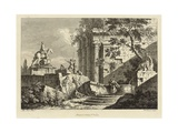 View from a Collection of Six  Engraved by Francois Vivares (1709-80)