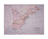 The Colonies of North America at the Declaration of Independence