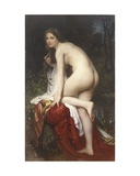 Woman Bathing  1864